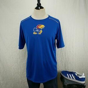 Kansas Jayhawks Dri-Fit NCAA Short Sleeve Tee